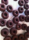 Chocolate-banana-donut-glutenfree-vegan